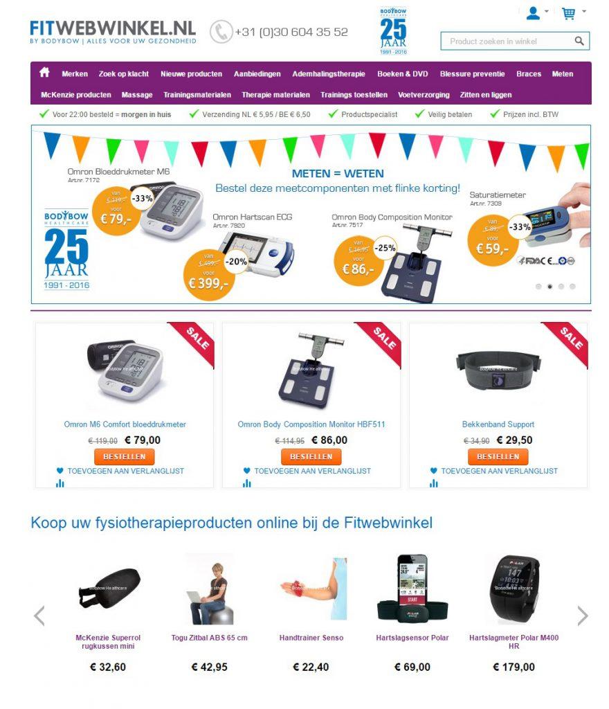 fitwebwinkel.nl onderdeel van BodyBow
